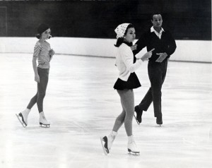 Coach Bob Paul and Cathy Steele