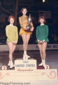 1966 US Championships - Peggy Fleming