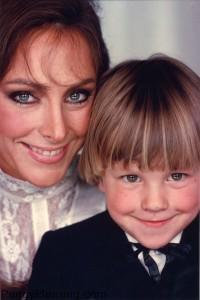 Peggy Fleming with Andy