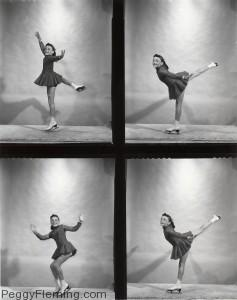 Young Peggy Fleming