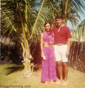 Peggy Fleming on Honeymoon